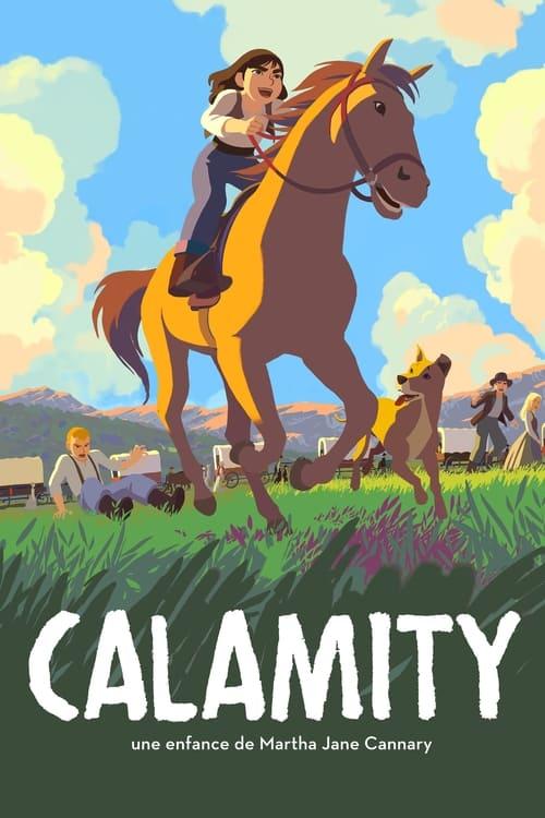 """Affiche du film """"Calamity, une enfance de Martha Jane Cannary"""""""