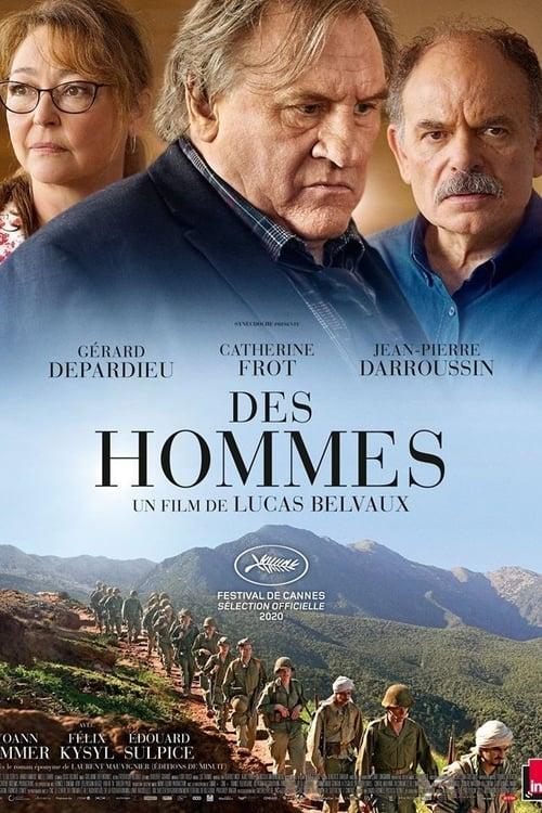 """Affiche du film """"Des hommes"""""""