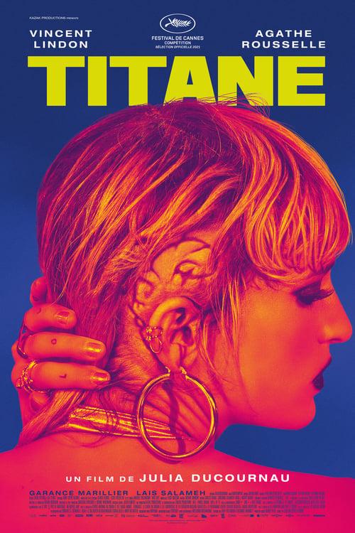 "Affiche du film ""Titane"""